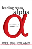 Leading Team Alpha - book cover